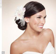 Wedding, Hair, Flower, Bun