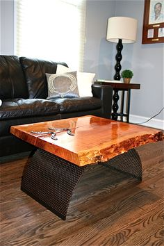 Cherry coffee table for contemporary living rooms | Discover more coffee tables ideas: www.bocadolobo.com