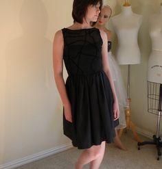 Black Dress Sample Sale by allfieruth on Etsy, $49.00