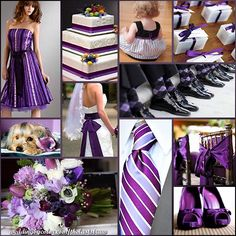 purple and black?