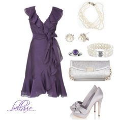 """""""purple ruffles"""" by bellaviephotography on Polyvore"""