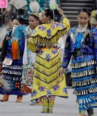 More than 1,000 dancers took part in the 34th annual Denver March Powwow in Denver over the weekend.