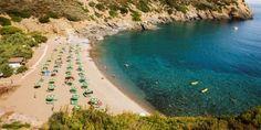 Italie, Elba-Safaritenten via Tendi op een uniek 450 hectare groot domein op Elba met eigen wijngaard, zwembad, speeltuin en privé stranden met azuur blauwe baaien.