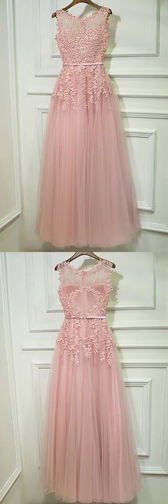 Only $109, Prom Dresses Gorgeous Pink Tulle Prom Dress Long With Lace Sleeveless #MYX18104 at #GemGrace. View more special Bridal Party Dresses,Prom Dresses,Homecoming Dresses now? GemGrace is a solution for those who want to buy delicate gowns with affordable prices, a solution for those who have unique ideas about their gowns. 2018 new arrived, shop now to get $10 off!