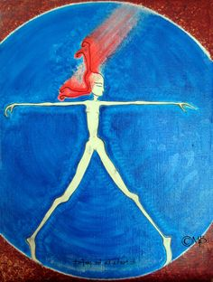 Items similar to Vitruvian Girl. High Quality Canvas and Oils. on Etsy Beauty Art, Oil, Studio, Canvas, Unique Jewelry, Creative, Handmade Gifts, Artist, Painting