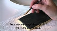 How to Make Chalkboard Cookies by Emma's Sweets