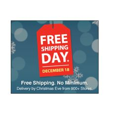 Reminder: FREE Shipping Day Today! - http://therealsavvysaver.com/2015/12/18/free-shipping-day-today/