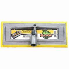 Gator x Pole Sander at Lowe's. The zip™ hook and loop drywall pole sander head is destined for comfort and quick results. It's the perfect tool for all your sanding needs. Drywall Sander, Air Miles Rewards, Paint Supplies, Sub Brands, Steel Wool, The Gables, Lowes Home Improvements, House Painting