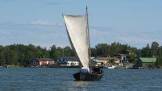 Sprint Sail Boat near Merikarvia - photo Grigory Shmerling