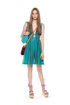 M-Missoni - SHORT TRIANGLE MOTIF JUMPSUIT