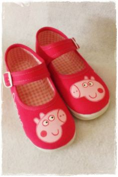 Peppa Pig Shoes Maryjane shoes Sneakers slippers by FieltroFever