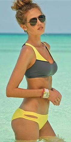 love this criss cross top bikini http://rstyle.me/n/ipw4sr9te