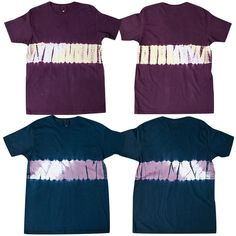 絞り染Tシャツ「雅」