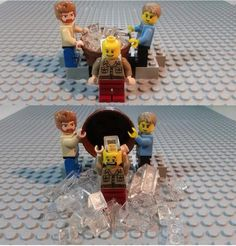 Lego ice bucket challenge lol