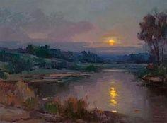Ovanes Berberian - Moonlit Night