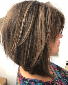 80 Best Modern Hairstyles and Haircuts for Women Over 50 Long Choppy Bob with Bangs Over 50 Choppy Bob With Bangs, Long Choppy Bobs, Bob Haircut With Bangs, Choppy Bob Hairstyles, Haircut For Thick Hair, Hairstyles Over 50, Modern Hairstyles, Straight Hairstyles, Cool Hairstyles