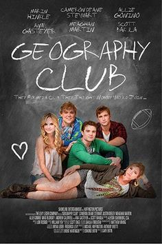 GEOGRAPHY CLUB by Brent Hartinger | 2013 (click for trailer and summary)