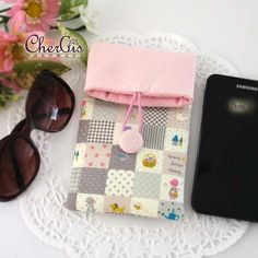 Fold over pouch sunglass pouch glass case smart phone by Chergis
