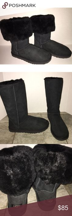 Uggs Like New Originally $200, These have never been worn and are almost like new I don't see any flaws perfect to wear this season! And for a great price. UGG Shoes