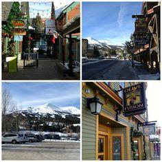 Lovely village of Breckenridge, Colorado. #travel #breckenridge #colorado
