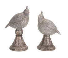Partridge Finial, Set of 2