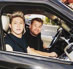 Niall & James Carpool Karaoke with James Corden