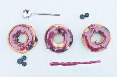 Blueberry Baked Doughnuts via Sprinkles for Breakfast {Happy National Doughnut Day!!}