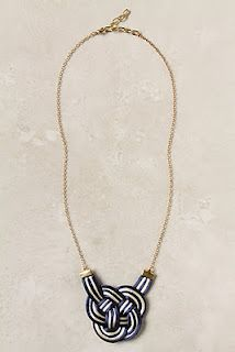 anthropologie~ the perfect necklace for a night out!