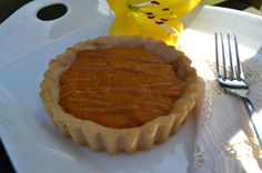 Sweet Potato Tarts with Caramel Drizzle and Sea Salt made with Otto's Naturals  Cassava Flour | Autoimmune Paleo