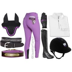 """Purple!"" by equestrianfashionofficial on Polyvore"