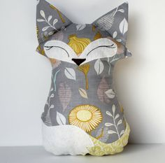 Plush Fox by aprilfoss on Etsy, $25.00