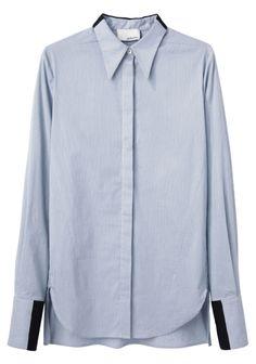 3.1 Phillip Lim / Cropped Shadow Shirt | La Garçonne