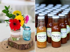 Maine wedding favors barbeque sauce