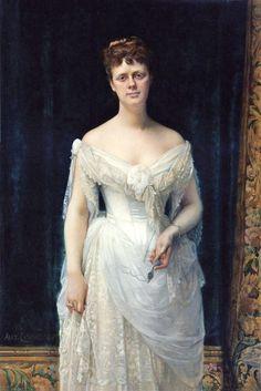 Alexandre Cabanel (French painter, 1823–1889) Mary Frick Garrett 1883