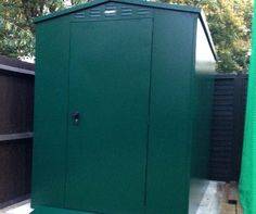"""Customer review.  """"Dear Asgard I felt I must write to you to tell you how delighted I am with my new shed. I ordered my 5x7 Flexistore shed about 6 weeks ago Tracey was so helpful I ordered over the phone as it's a large purchase amount and I wanted to get it right. I placed my order and Tracey then sent me some metal samples so I could be sure of my choice. I did then call and add a ramp to my order before the delivery date which was no problem at all.  The two delivery drivers were really…"""