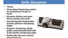 best electric knife sharpener| professional knife sharpener reviews http://amzn.to/2bRvLtb Finding the Best Electric Knife Sharpener   Are you searching for the best electric sharpener available? At that point you are in the correct spot!   Electric knife sharpeners have the benefit of velocity because of the mechanization of the granulating more often than not 1 to 2 minutes from beginning to end. In the event that the edge simply needs a touch up then the procedure may just take under 30…