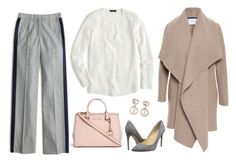 """""""What would Olivia Pope wear?"""" by wrymommy on Polyvore featuring J.Crew, Michael Kors, Harris Wharf London, Ivanka Trump and Samira 13"""