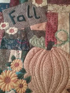 Finally Fall quilt made from Kansas Troubles fabrics