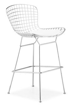 Amazon.com - Zuo Wire Bar Chair Chrome (set of 2) - Barstools With Backs
