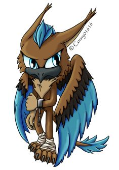 Kiron the Griffin Character belongs to me!!! Sonic The Hedgehog, Deviantart, Fictional Characters, Fantasy Characters