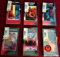 Star Trek Original Series Movies TOS All Six VHS New Still in Shrink Wrap Spock