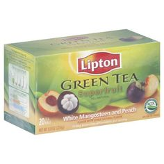 Tea Grain Mangostn Pch White Pack of 6 * You can get additional details at the image link. (This is an affiliate link and I receive a commission for the sales) Lipton Green Tea, Gourmet Recipes, Grains, Peach, Packing, Image Link, Food, Awesome, Check