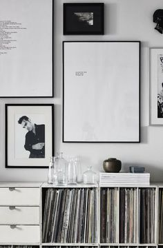 Vinyl collections | Cool cabinets to store your records