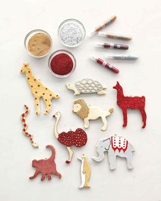 Easy as baking cookies, salt dough can be shaped and preserved into keepsakes for the family. Like any other moldable medium, salt dough can be shaped with the added bonus of using all-natural kitchen staples. Salt Dough Ornaments, Homemade Ornaments, Diy Christmas Ornaments, Christmas Projects, Handmade Christmas, Holiday Crafts, Christmas Tree, Christmas Ideas, Christmas Decorations