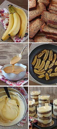 Banana Bread Tiramisu | From SugarHero.com