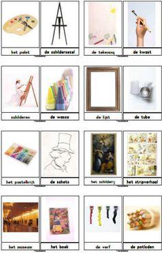 Teaching ideas for the art theme Juf Sanne Van Gogh For Kids, Art For Kids, Kandinsky, Realistic Pencil Drawings, Art Drawings, Rembrandt, Mondrian, Subject Of Art, Vernal Equinox