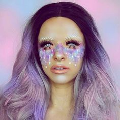 """188 Likes, 3 Comments - Jazzy Glitter (@jazzy_glitter) on Instagram: """"@kimberleymargarita_ using some of our Ebony Sugar glitter love the pastel theme """""""