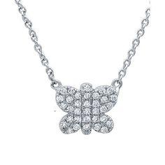 Miss CRISLU Butterfly Necklace