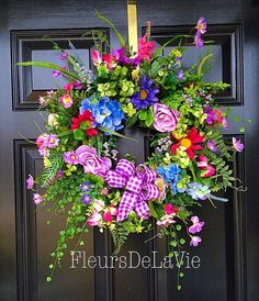 Hey, I found this really awesome Etsy listing at https://www.etsy.com/listing/125729448/spring-door-wreath-house-warming-gift