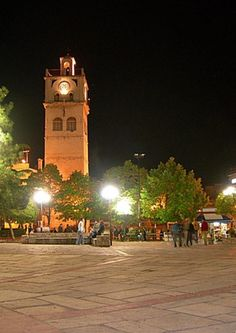 Kozani Clock Tower, Kozani, Greece Greece Travel, Italy Travel, Macedonia Greece, Places In Greece, Paradise On Earth, World Cities, Towers, Clocks, Places To See